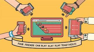 Chrome Super Sync Sports, Main Game di Browser dengan Smartphone Sebagai Controller