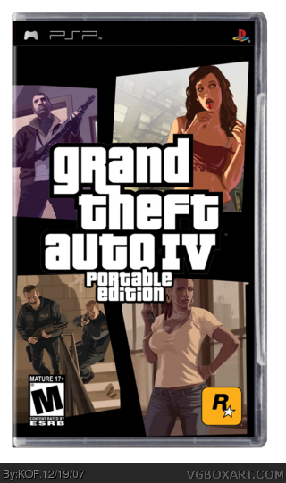 Grand Theft Auto Game Psp