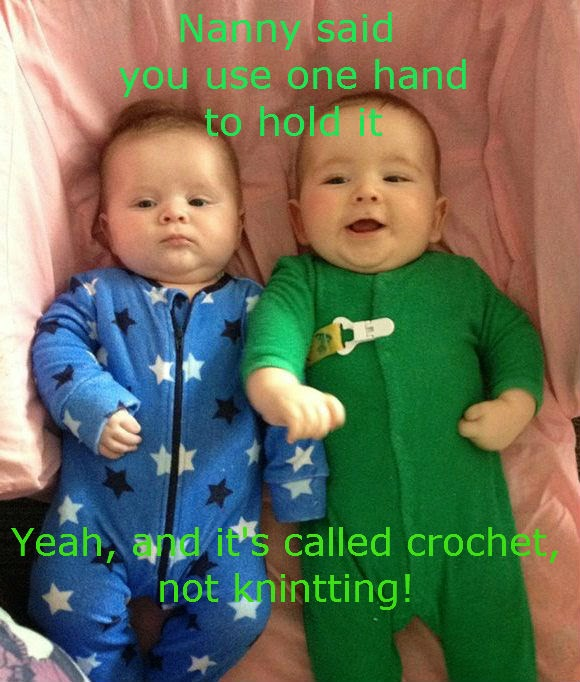 crochet baby talk