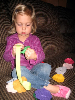 Dahlia and the Ribbon Snake