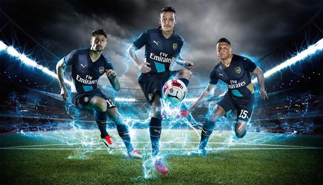 Jersey Arsenal 3rd 2015-2016