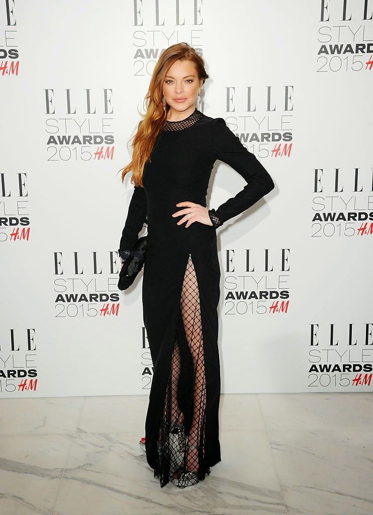 Actress: Lindsay Lohan - Elle Style Awards in London