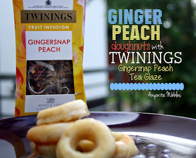Ginger Peach Doughnuts from www.anyonita-nibbles.com