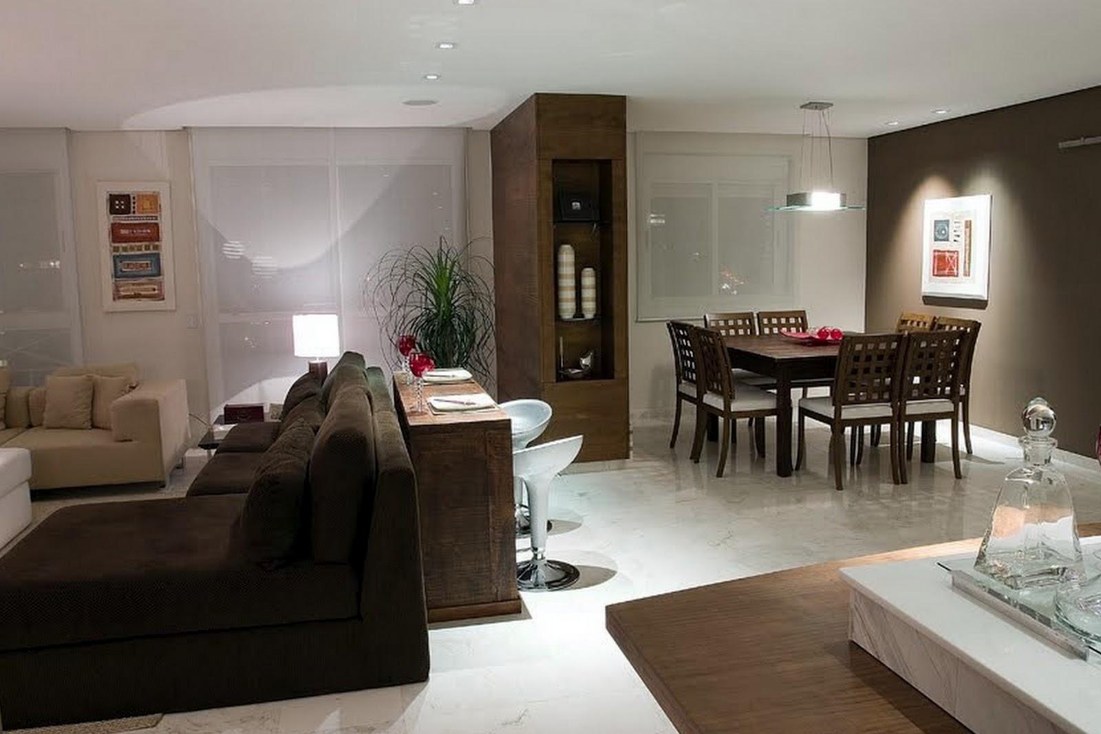 #292016 sala jantar e sala de estar (12).jpg 1600x1067 píxeis em Ambientes Decorados Para Sala De Estar