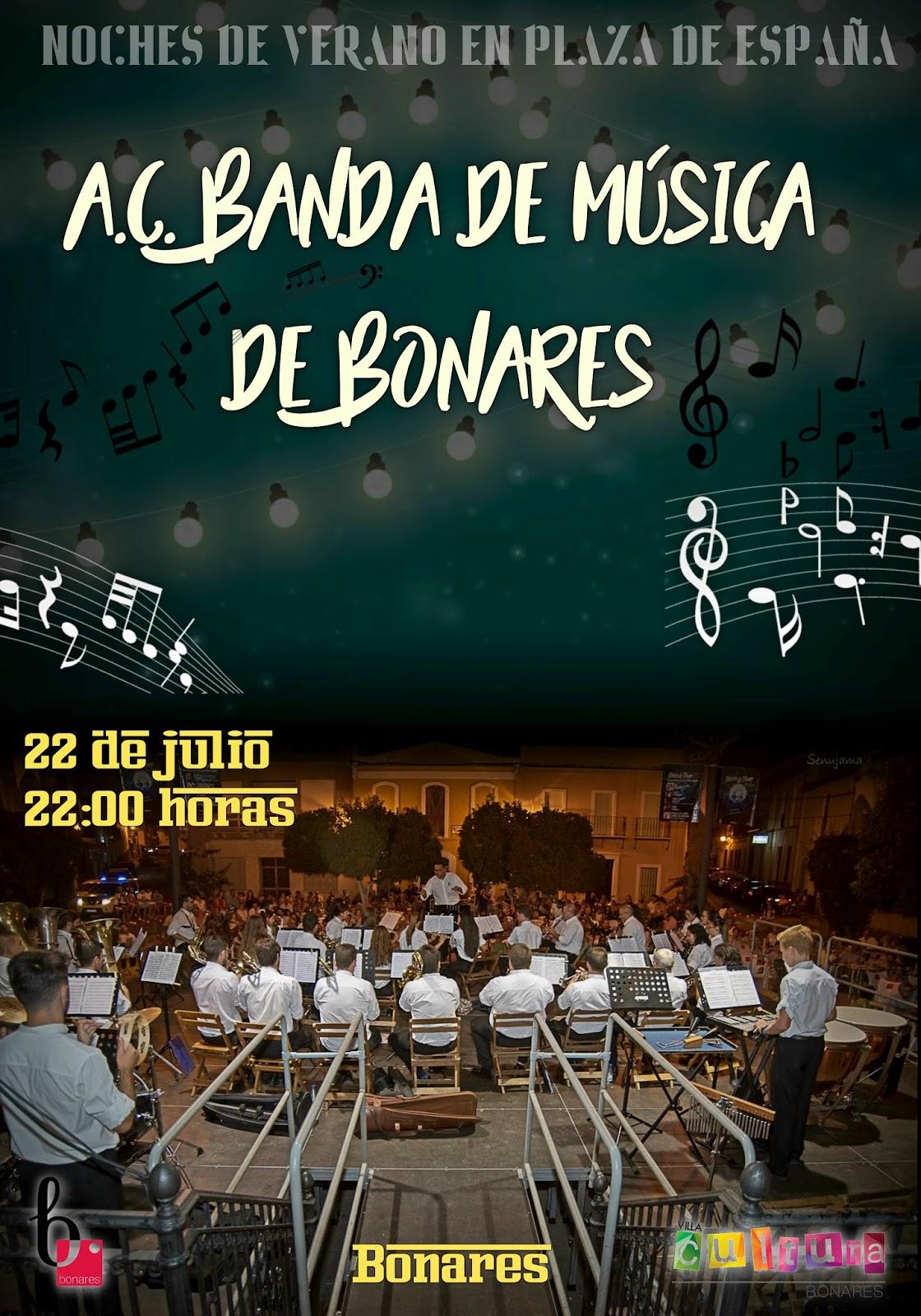 A.C.BANDA DE MÚSICA DE BONARES EN CONCIERTO