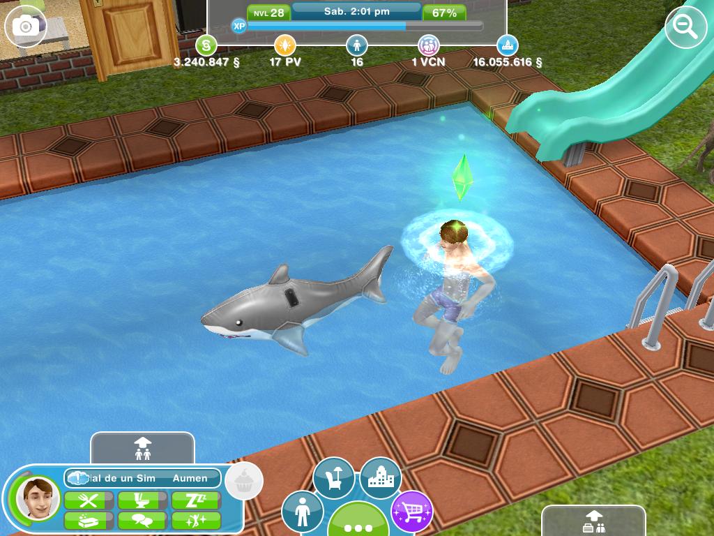 Los sims free play febrero 2013 for Piscina sims 4