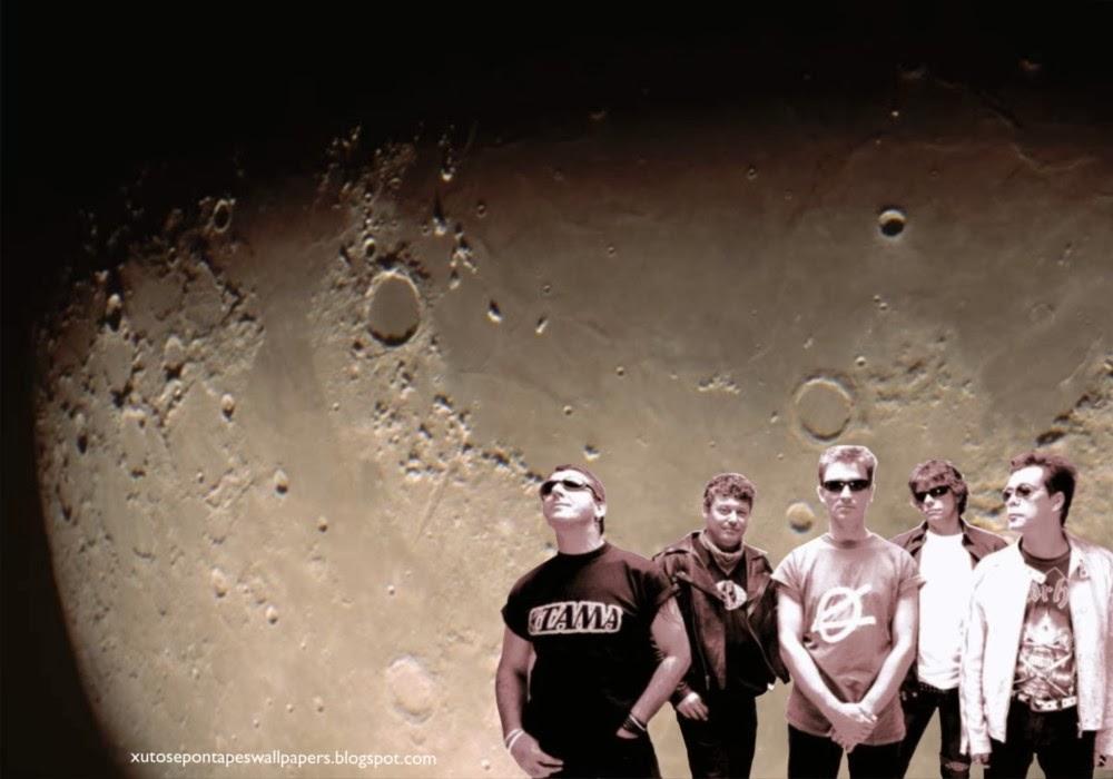 Wallpapers Grátis dos Xutos e Pontapés. Foto de Grupo desta Banda portuguesa de Rock em fundo de tela Luz do Luar