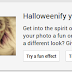 Halloweenify your Google+ photos
