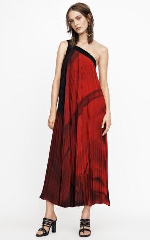 vestido asimétrico H&M colección Conscious Exclusive 2015