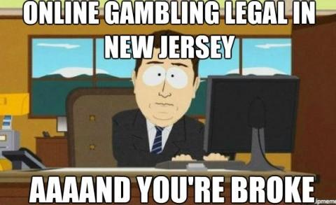 Online gambling bill new jersey