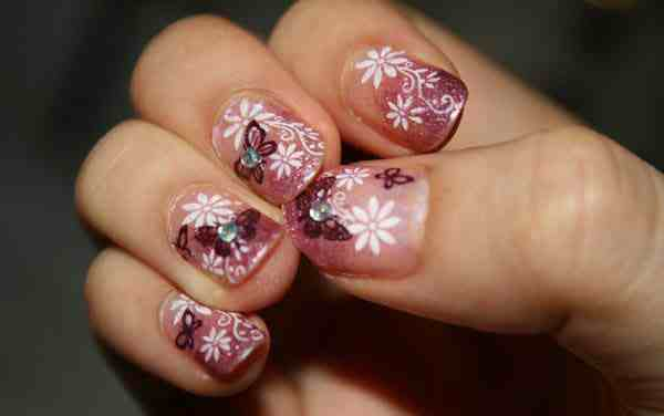 The Cool Cute nail art design Image