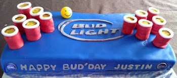 Bud Light Beer pong Table