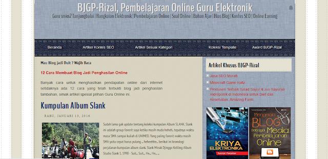 Situs Guru Elektronik Online Sang Master SEO