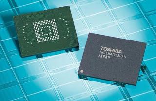 Memory NAND Flash e-MMC 24 nm Terbaru dari Toshiba