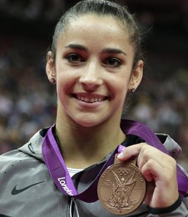 Raisman finishes Olympics in style with floor gold