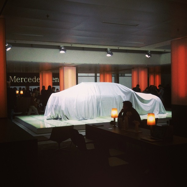 new 2014 Mercedes-Benz S-Class World Premiere in Hamburg