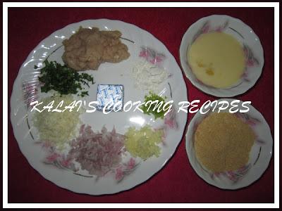 Chicken Cheese Balls Ingredients
