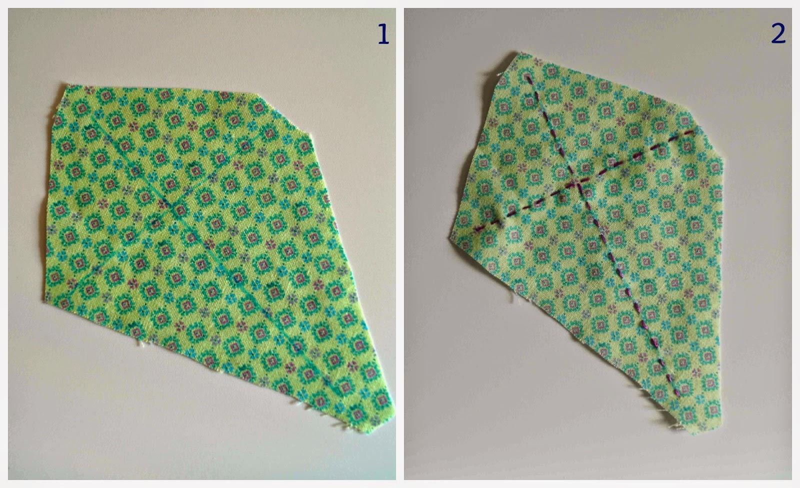 Deshilachado: Tutorial: acerico cometa / Tutorial: kite pincushion