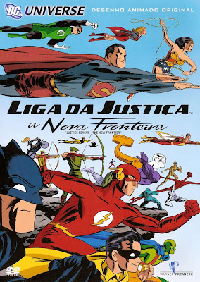 Filme Poster Liga da Justiça: A Nova Fronteira DVDRip XviD & RMVB Dublado