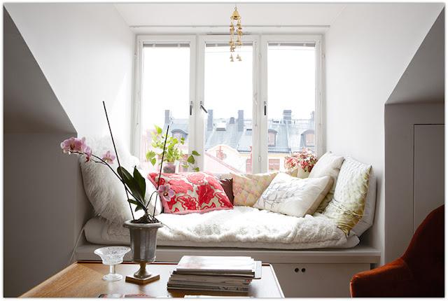 Уютное место у окна