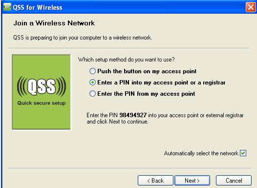 برنامج فتح شبكات الوايرلس بدون باسورد QSS for wireless