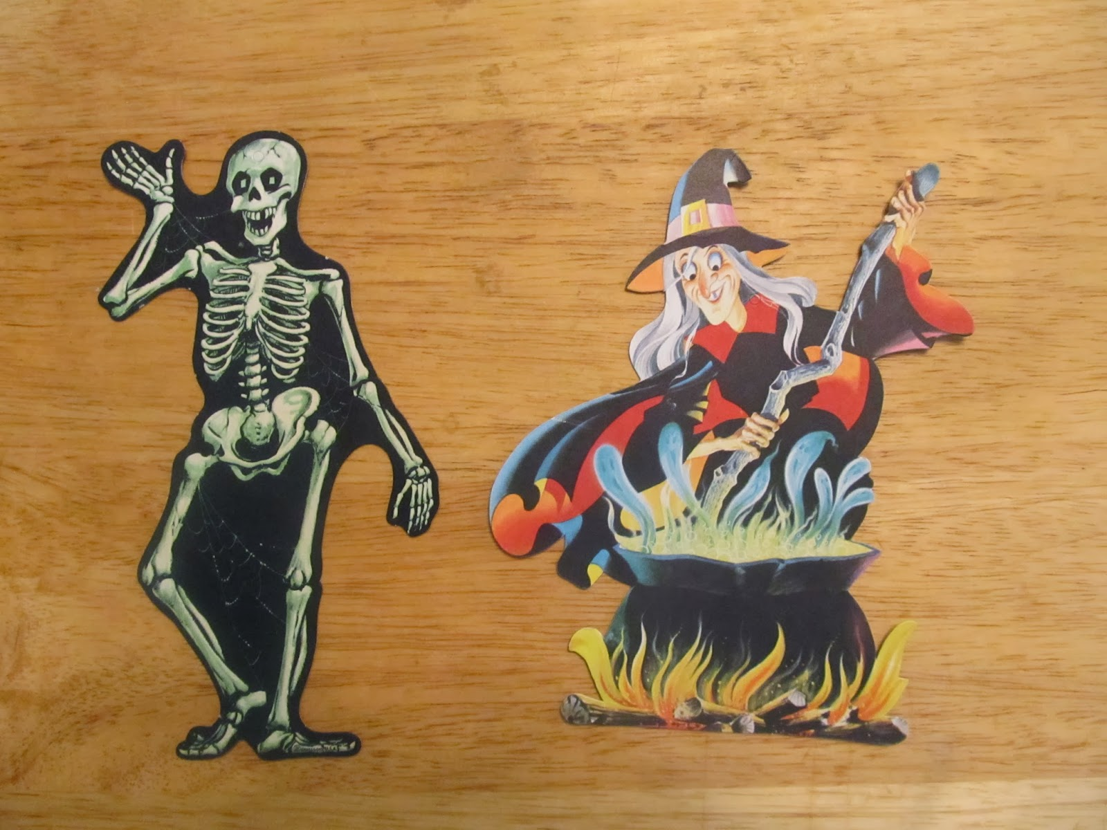 Vintage halloween paper decorations - You Might Also Like