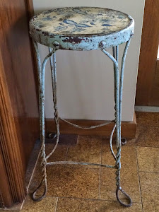 Fabulous Blue Stool