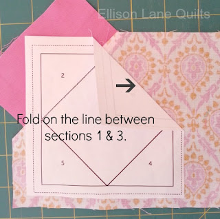 fpp+8 National Sewing Month 2012: Foundation Paper Pieceing Tutorial