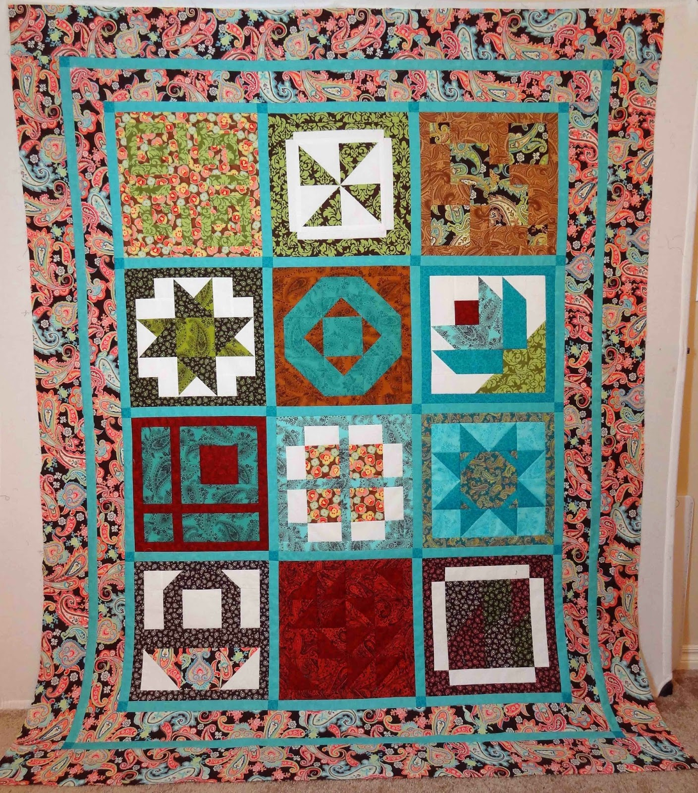 Moose On The Porch Layer Cake Quilt Along