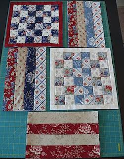 Moldes de bolsa em patchwork