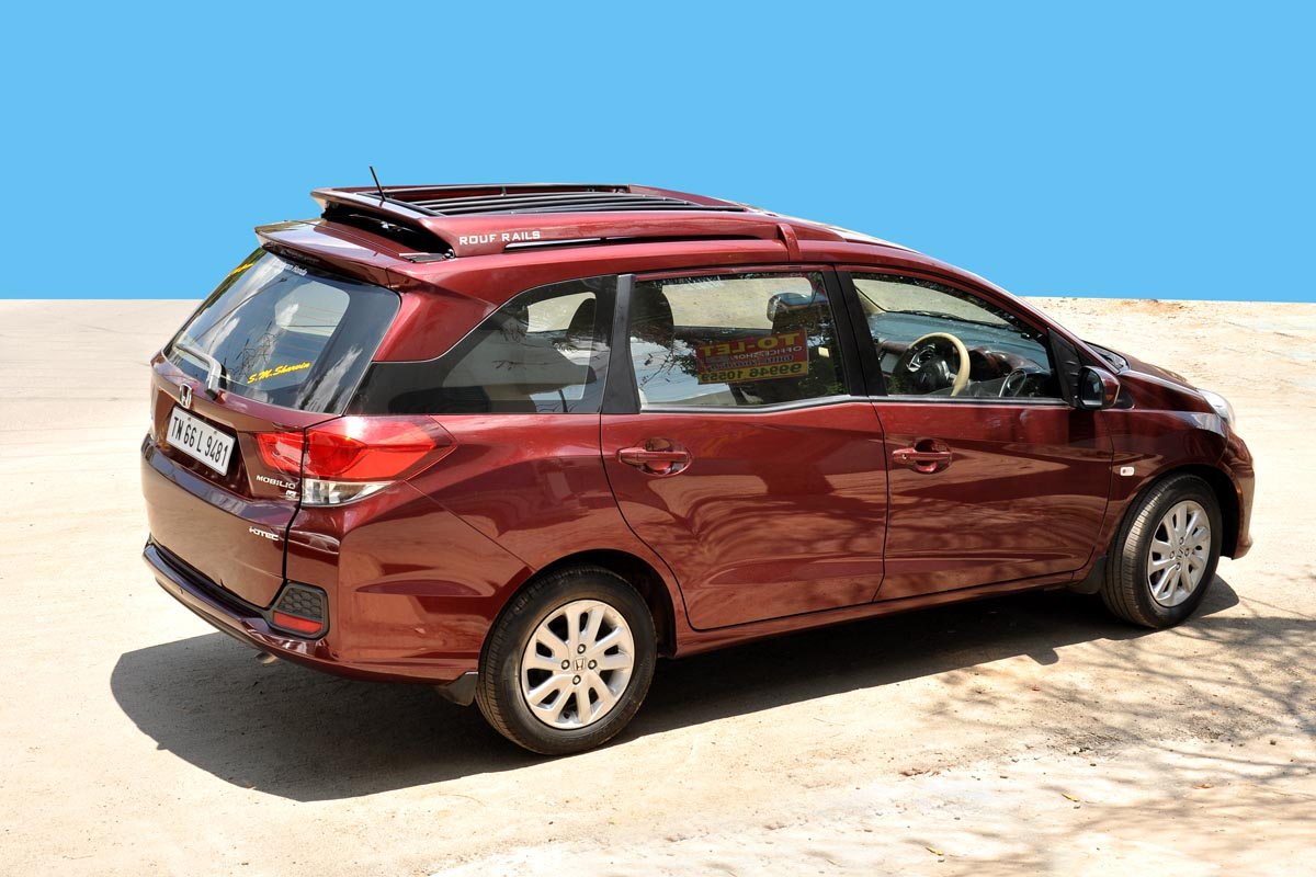 Mobilio Roof Luggage Carrier
