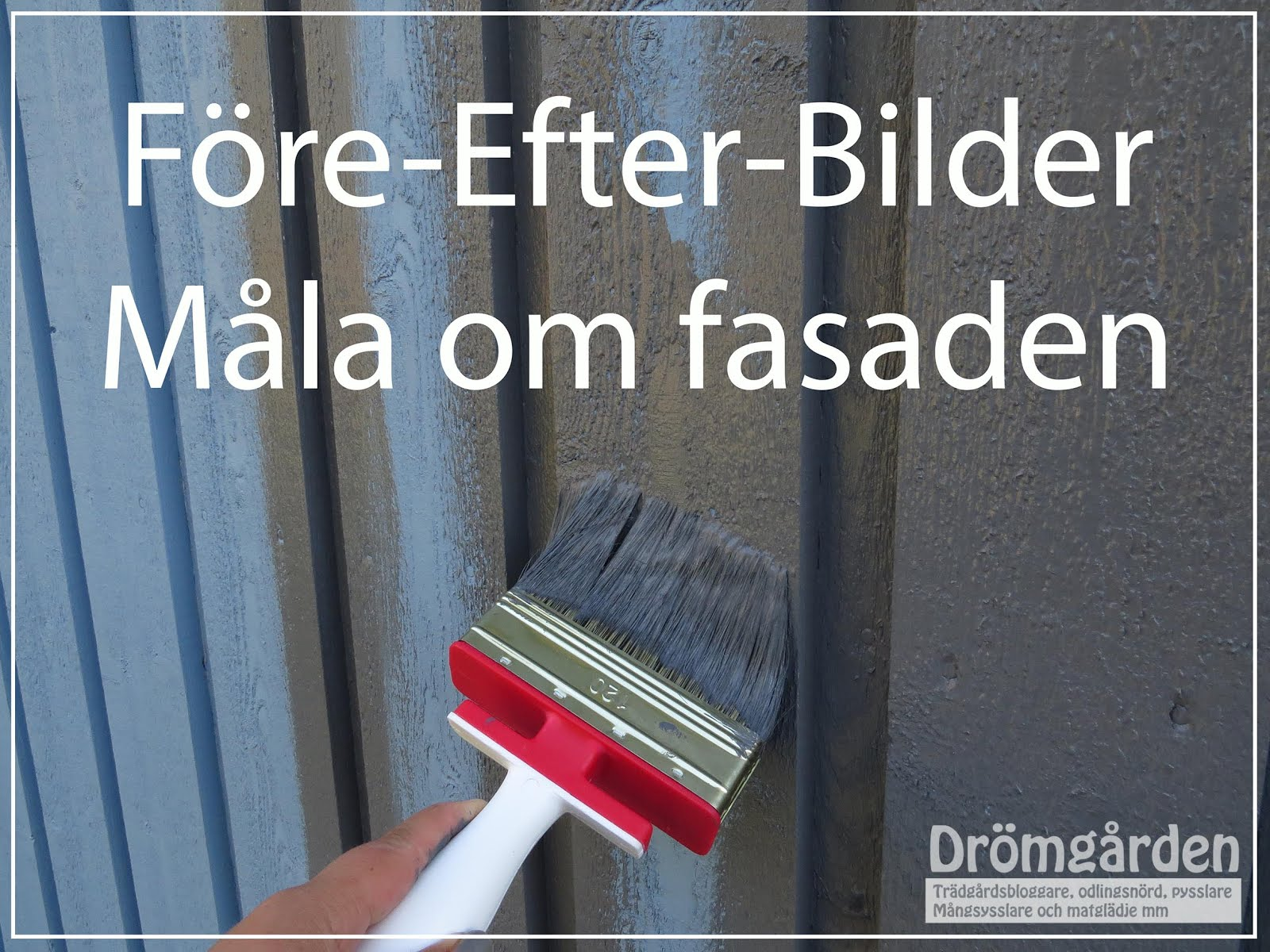 Bildbomb från fasadmålningen