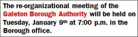 1-9 Meeting Notice-Galeton Borough Authority