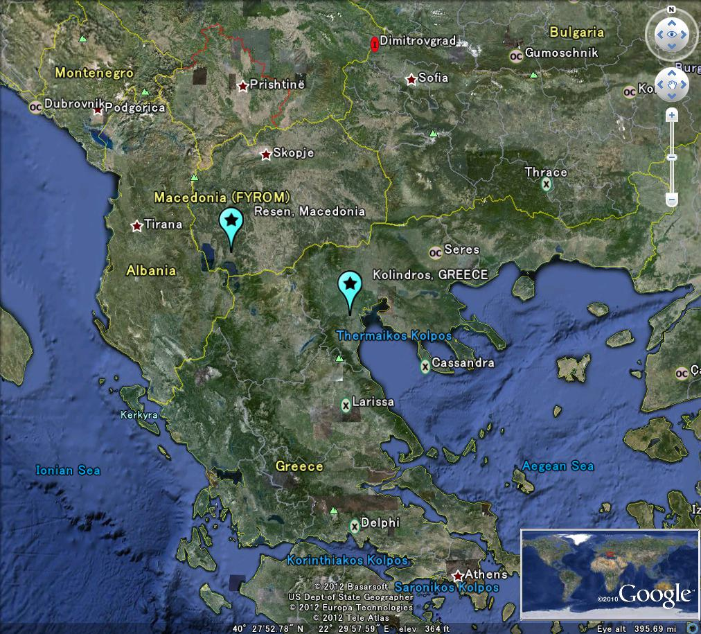 The latest worldwide meteormeteorite news greecemacedonia meteor greecemacedonia bolide meteor 22jan2012 neon markerssighting reports v1 c lunarmeteoritehunter google earth gumiabroncs Image collections