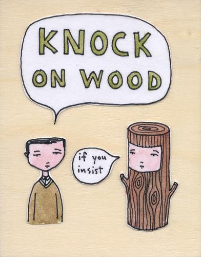 Rencontre avec knock on wood