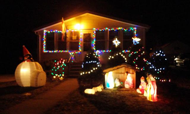 Christmas lights decoration