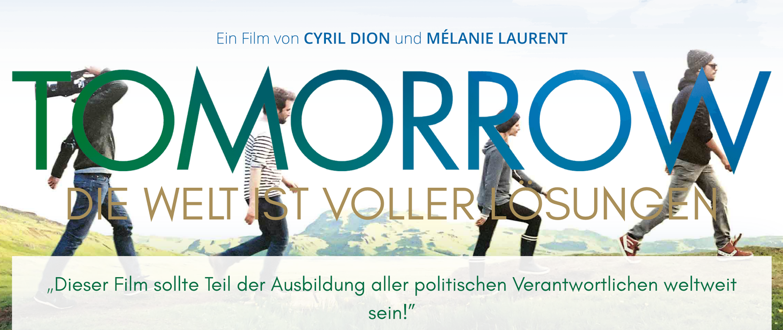 «Tomorrow» - ein Superfilm