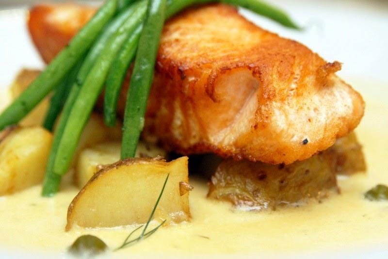 Salmon Beurre Blanc Kulinarya Kitchen