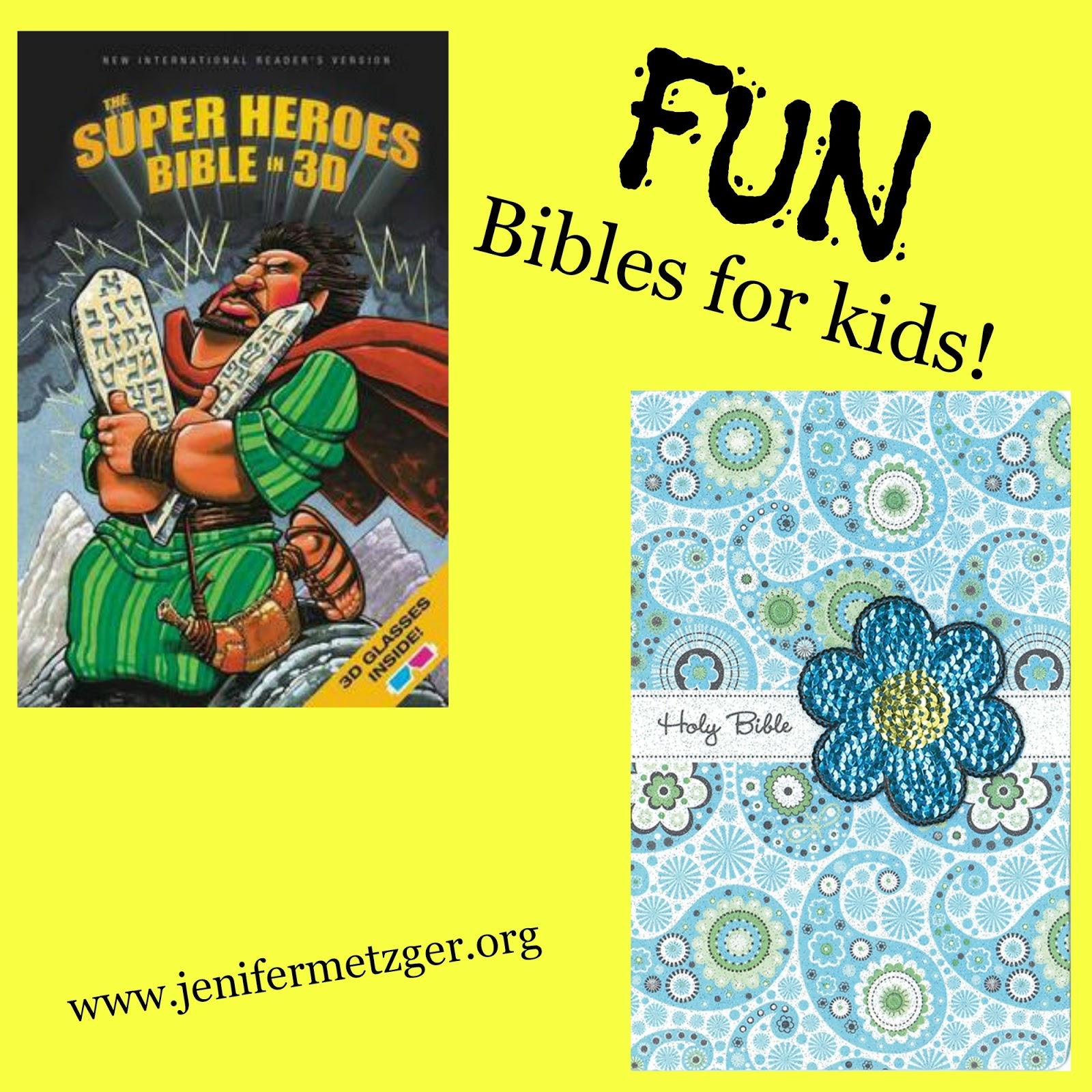 Fun #Bibles for #kids