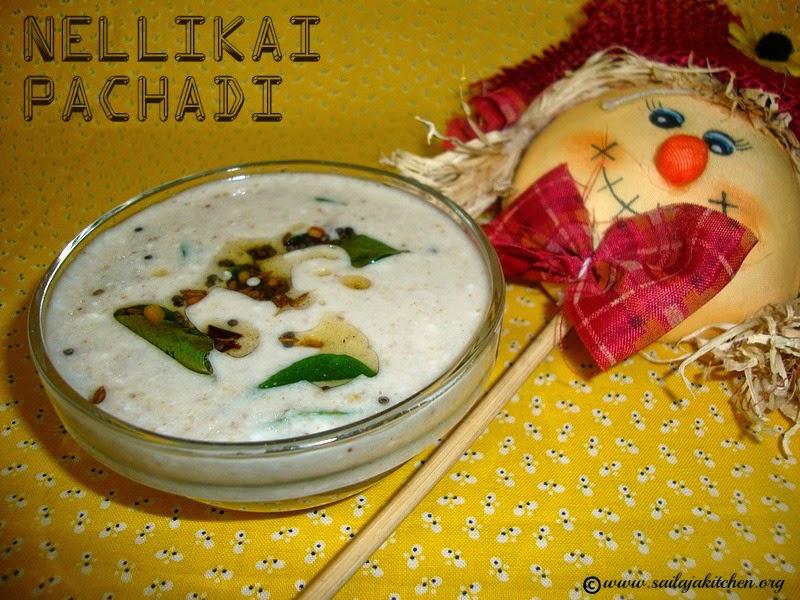 images for Nellikai Thayir Pachadi Recipe /  Gooseberry Raita / Amla Raita / Amla Pachadi Recipe / Usirikaya Pachadi Recipe