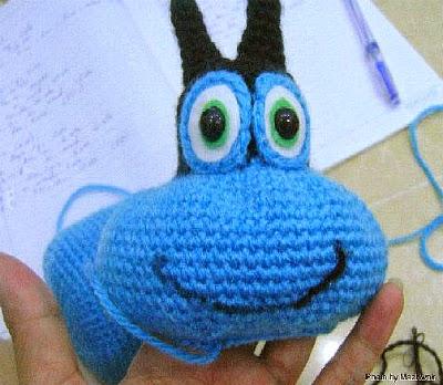 crochet Oggy