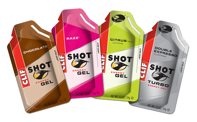 clif shot energy gel marathon snack