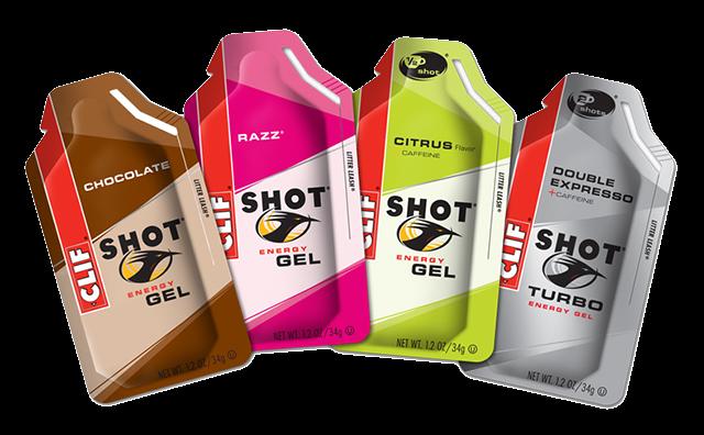 clif shot energy gel marathon snack