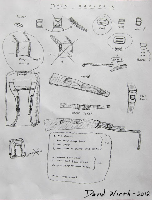 backpack plans, instructions how to make, sew, build, camping bag