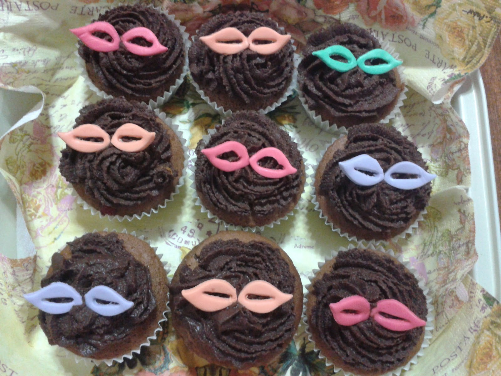 Cupcakes tenerife cupcakes de carnavales - Cupcakes tenerife ...