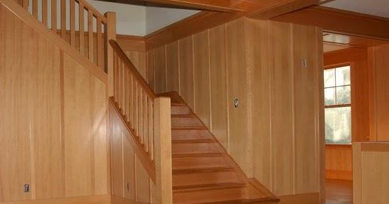 dinding kayu tips rawat rumah taman dan ac
