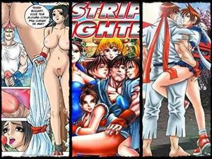 Quadrinhos da turma do Strip Fighter