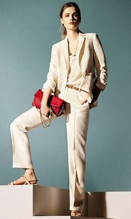 Massimo Dutti mujer verano 2014 traje chaqueta mujer