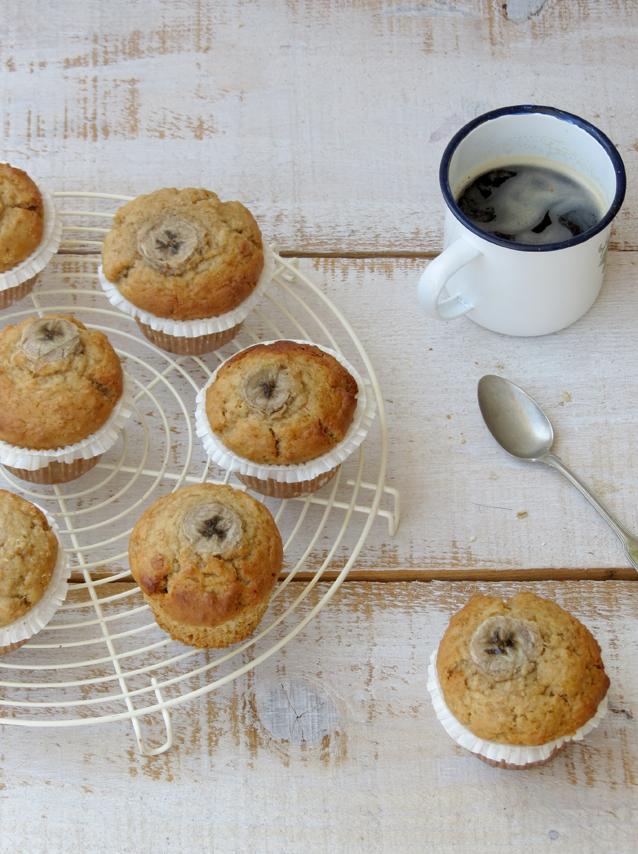 muffins de manteiga de amendoim
