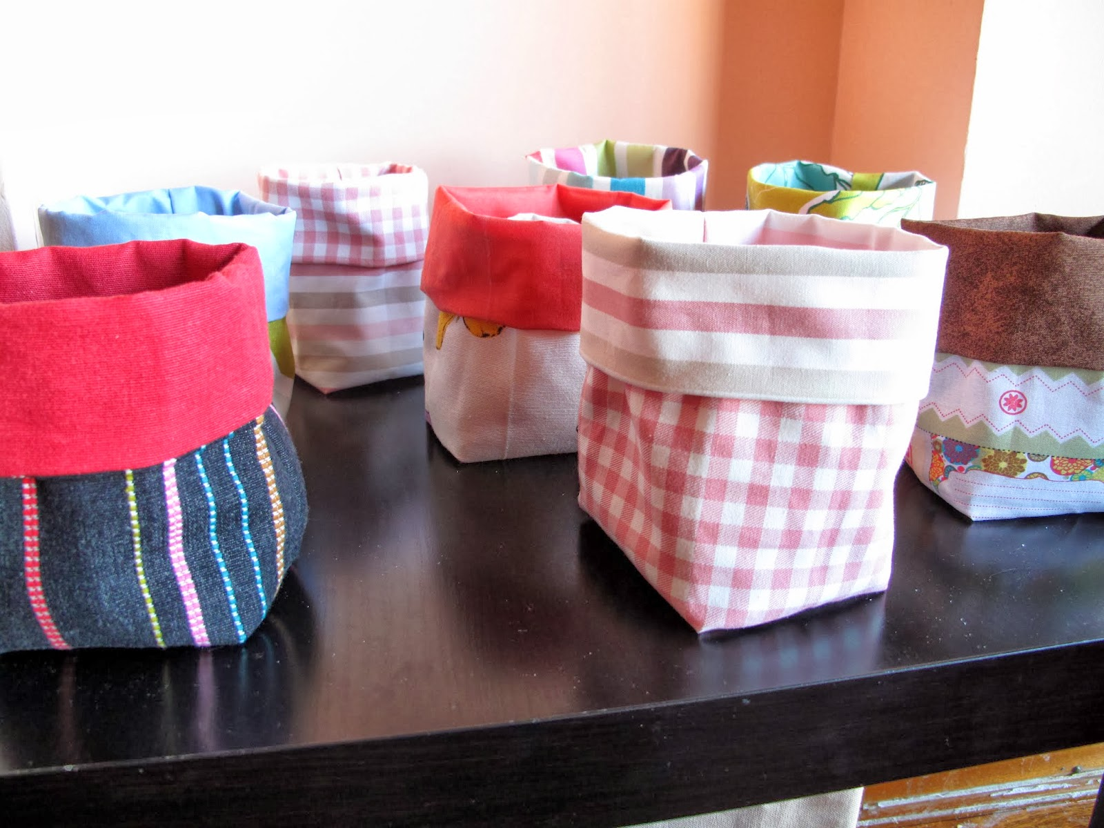 regalos de navidad hechos por mi misma para las chicas mi madre mis tas mis primas he hecho unas bolsitas de tela como las que os ense aqu